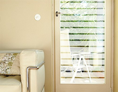 Window Sticker Favourite Color Strips Small window film window tattoo glass sticker window art window decoration window picture Print Color: aquamarine; Size: 97.6 x 48 inches