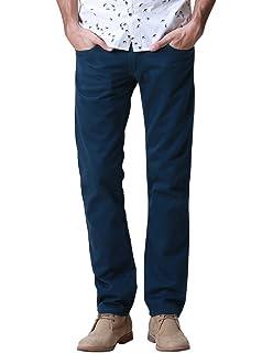 Match Hombre Slim Casual Pantalones #8093