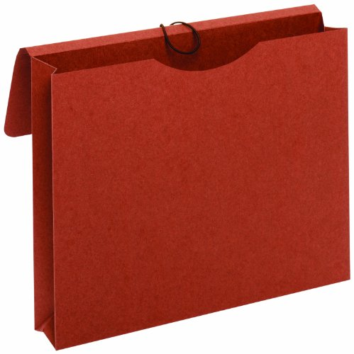 Globe-Weis Paper File Envelope, 2-Inch Expansion, Letter Size, Brown (243)