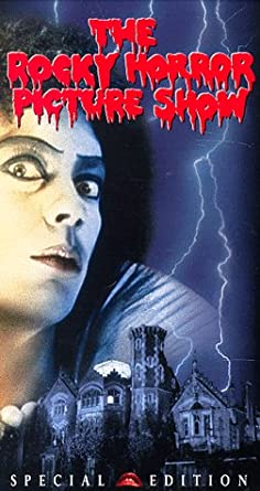 Amazon Com Rocky Horror Picture Show Vhs Tim Curry Susan Sarandon Barry Bostwick Richard O Brien Patricia Quinn Nell Campbell Jonathan Adams Peter Hinwood Meat Loaf Charles Gray Jeremy Newson Hilary Farr Peter Suschitzky