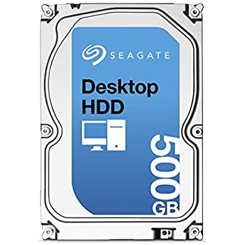 (Old Model) Seagate 500GB Desktop HDD SATA 6Gb/s 16MB Cache 3.5-Inch Internal Bare Drive (ST500DM002)