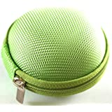 Green Color Carrying Case for Bose IE2 MIE2 MIE2I SIE2 SIE2I IE1 MIE1 In-Ear Headphones Mobile In-Ear Headset Stereo Wired Sport Bag Holder Pouch Hold Box Pocket Size Hard Hold Protection Protect Save