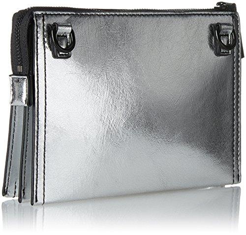 Black Pochettes silver b Cm matte Slide French Lock X 5x13x19 T Contemp Josefina H Connection Femme Mehrfarbig 1 U8Cq81
