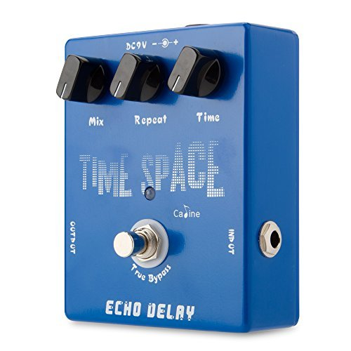Caline Echo Delay Guitar Effects Pedal Time Space Bass Distortion