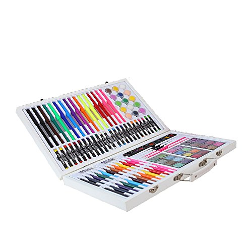 JIANGXIUQIN Artist Art Drawing Set, Good Tools for Drawing Or Sketching, 119 Pieces of Graffiti, Colors, School Items to Add Colorful Styles, Creative Gifts. Gifts for Children and Children. by JIANGXIUQIN (Image #4)