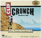 CLIF CRUNCH - Granola Bar - White Chocolate Macadamia - (1.48 oz, 5 Two-Bar Pouches) by Clif Bar