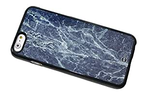 1888998652116 [Global Case] Mármol Piedra Cerámico Azul Playa Guijarro Marfil Rock Gris Elegante Lujo Prima Cristales Metamórfico (NEGRO FUNDA) Carcasa Protectora Cover Case Absorción Dura Suave para LG L90