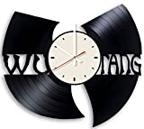 Pieceful The Wu Tang Clan Vinyl Record Wall Clock