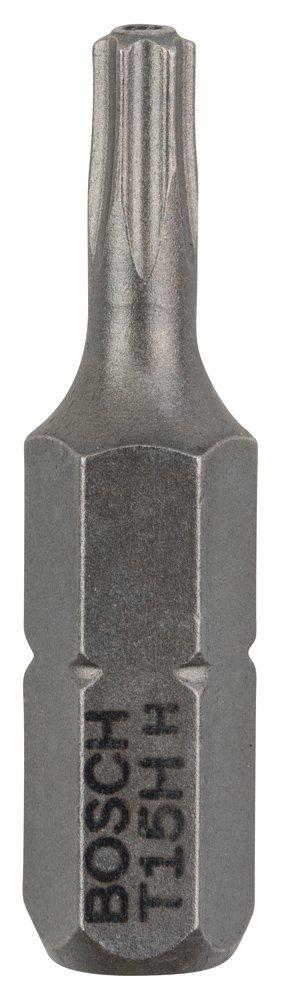 Bosch Professional Bit Extra-Hart f/ür Security-Torx-Schrauben T20H, 2 St/ück