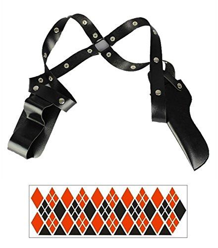 Affect Shop Cosplay Props Gun Choker Belt Bracelet Holster (holster)