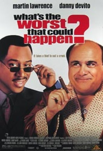What's The Worst That Can Happen? Video 27X40 Martin Lawrence Poster Silverscreen