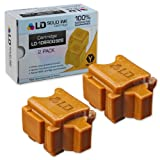 LD © Xerox ColorQube 8570 Compatible 2 Yellow 108R00928 / 108R928 Solid Ink ColorStix Cartridge, Office Central