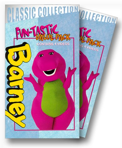 Barney Classic Collection 4-Pack [VHS] by Lyons / Hit Ent.