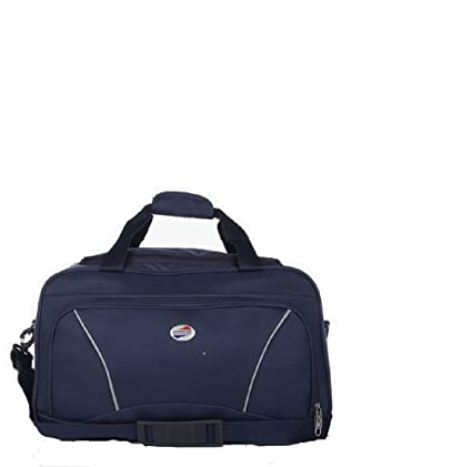 Image Unavailable. Image not available for. Colour  American Tourister  Polyester 55 cms Navy Travel Duffle ... f25ecf4f9f243