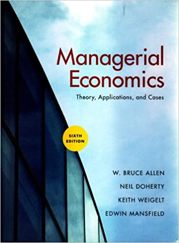 Managerial economics in a global economy 6th (sixth) edition.