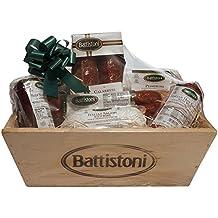 4.65 lb Gourmet Italian Meat Lovers Gift Basket