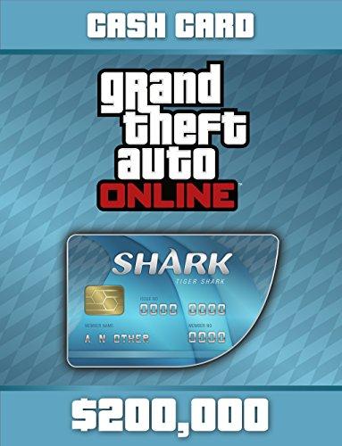 Grand Theft Auto V: Tiger Shark Cash Card - PS4 [Digital Code] (Shark Gta)
