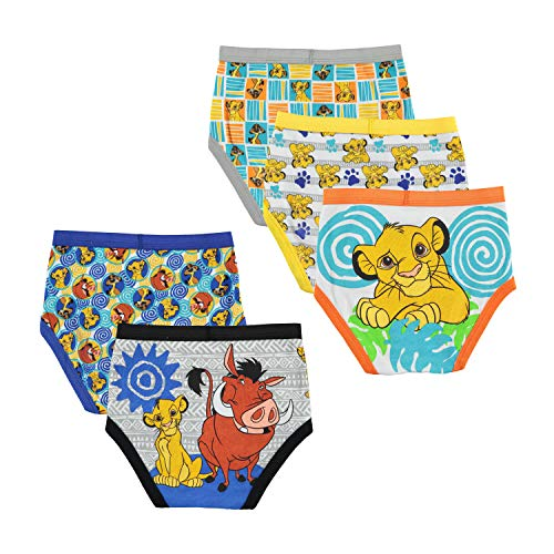 Disney Little Lion King 5 Pack Boys Brief, Lionmulti, 4