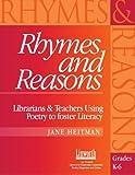 Rhymes and Reasons, Jane Heitman, 1586830856