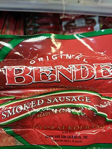 Bende Hungarian Smoked Sausage 12 Oz (4 Pack)