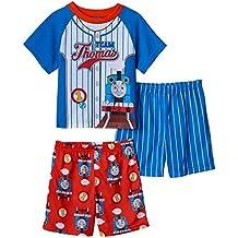 AME Team Thomas Train 3 Piece Toddler Pajama Set