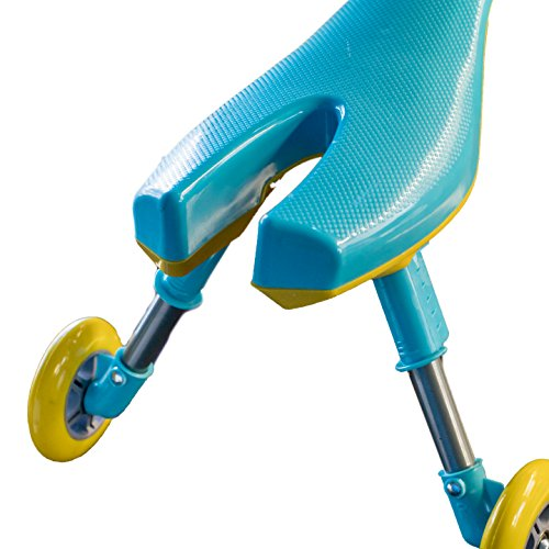 Mr Bigz Foldable Indoor/Outdoor Toddlers Glide Tricycle - No Assembly Required (Blue) by Mr Bigz (Image #3)