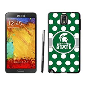 Samsung Galaxy Note 3 Cover Ncaa Big Ten Conference Michigan State Spartans 27 Athletics Element Cellphone Protective Case