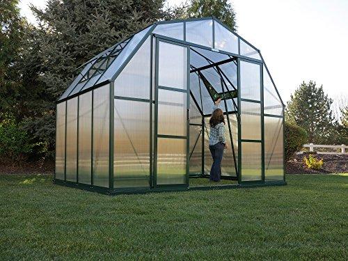 Grandio Summit Greenhouse Kit (12x32, Heavy Duty Earth Base, Earth Anchors)