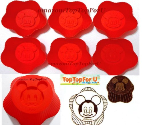 Authentic Mickey Silicone Muffin Cupcake