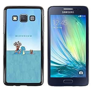 TaiTech / Case Cover Housse Coque étui - Drôle Pekemon - Samsung Galaxy A3