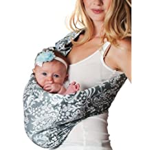 Hotslings Adjustable Pouch Baby Sling, Overcast, Large by Hotslings