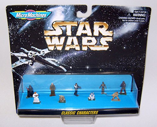 Original Star Wars Characters (Classic Characters Star Wars Micro Machines Figure Collection)