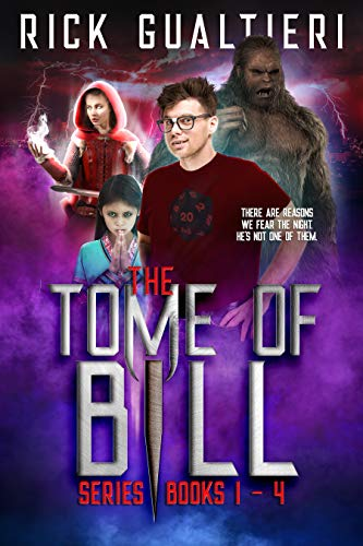 The Tome of Bill Series: Books 1-4 - a Horror Comedy Collection (Tome of  Bill Omnibus Book 1)