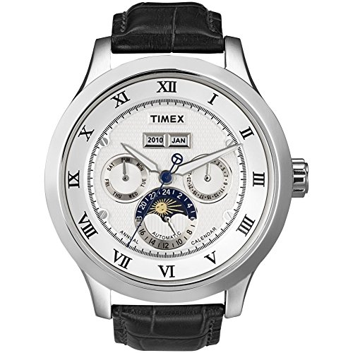 matic Leather Strap White Dial Men's watch #T2N294 ()