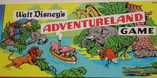 Walt Disney's Adventureland Game (Vhs Board Game)