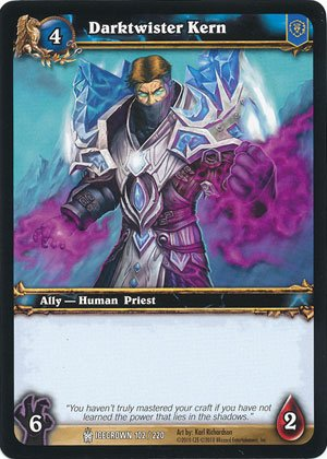 World of Warcraft TCG - Darktwister Kern (ICE - 102) - Icecrown