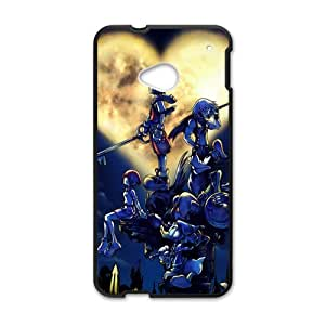 Happy Simple And Clean Kingdom Hearts Cell Phone Case for HTC One M7