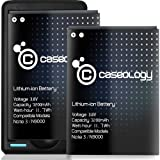 Caseology 2 X 3200 mAh Li-ion Spare Battery Replacement Combo with Portable USB Port Travel Wall Charger for Samsung Galaxy Note 3 Battery