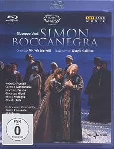 Simon Boccanegra [Blu-ray] [Import]