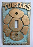ninja turtle light cover - TMNT - Light Switch Cover (Aged Patina)
