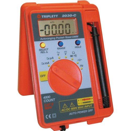 et-Sized Autoranging Digital Multimeter, 37 Measurement Ranges (Digital Pocket Sized Meters)