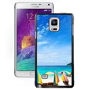 New Beautiful Custom Designed Cover Case For Samsung Galaxy Note 4 N910A N910T N910P N910V N910R4 With Morning Sea Phone Case