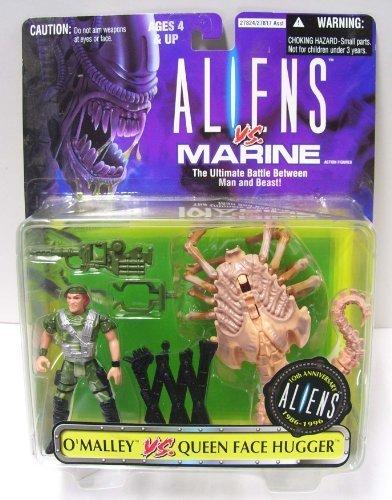 Queen Face Hugger (Aliens VS Marines O'Malley VS Queen Face Hugger 10th Anniversary set 1986-1996)