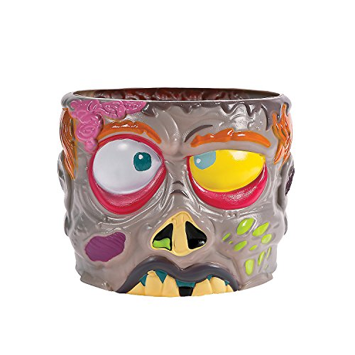Fun Express - Zombie Punch Bowl (1pc) for Halloween - Party Supplies - Serveware & Barware - Serving Bowls - Halloween - 1 Piece -