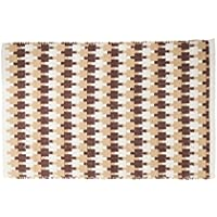 Harbormill 2 x 3 Ft. Latte Serrated Stripes Area Rug