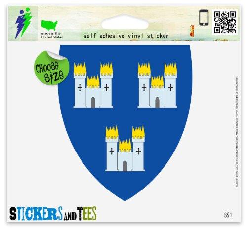 - Dublin Ireland Coat Of Arms Vinyl Car Bumper Window Sticker 3