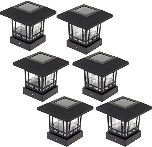 Westinghouse 6 Led Solar Light Lamp Post