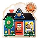 Melissa & Doug 2053 Shapes Knob Wooden Puzzle