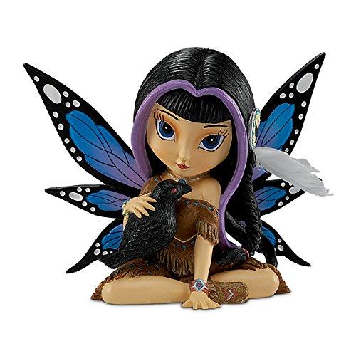 Jasmine Becket-Griffith Ravensky, The Spirit of Good Fortune Fairy Fantasy Art Figurine by The Hamilton Collection (Fairies Griffith Becket Jasmine)