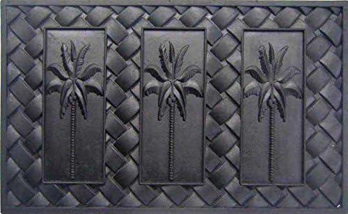 Geo Crafts Rubber Palm Trees Doormat